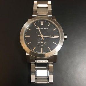 Burberry Black Dial Men's Watch